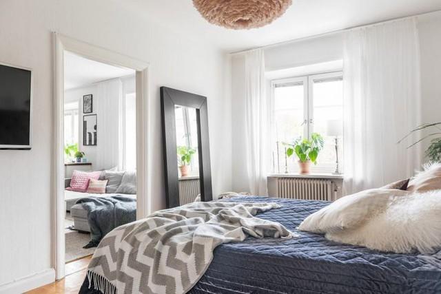 Học cách thiết kế căn hộ 66m2 tiên tiến, tiện nghi cho gia đình trẻ - Ảnh 12.