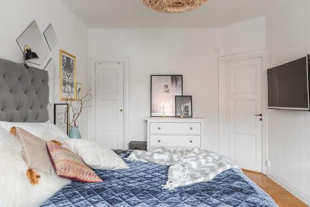 Học cách thiết kế căn hộ 66m2 tiên tiến, tiện nghi cho gia đình trẻ - Ảnh 13.