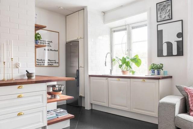 Học cách thiết kế căn hộ 66m2 hiện đại, tiện nghi cho gia đình trẻ - Ảnh 9.