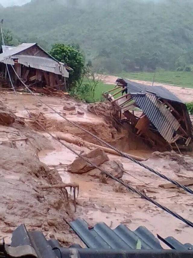 Hình ảnh mưa lũ tàn phá khủng khiếp ở Mường Lát  - Ảnh 15.