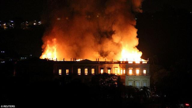 Cháy dữ dội bảo tàng trên 200 năm tuổi, chứa 20 triệu hiện vật - Ảnh 5.