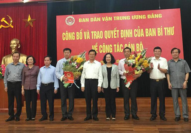 Bộ Chính trị, Ban Bí thư Trung ương Đảng điều động, phân công cán bộ - Ảnh 3.
