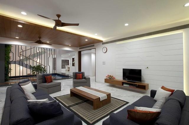 Ngôi nhà có thiết kế hiện đại, sáng tạo - Ảnh 1.