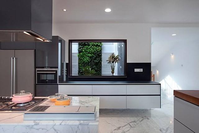 Ngôi nhà có thiết kế hiện đại, sáng tạo - Ảnh 4.
