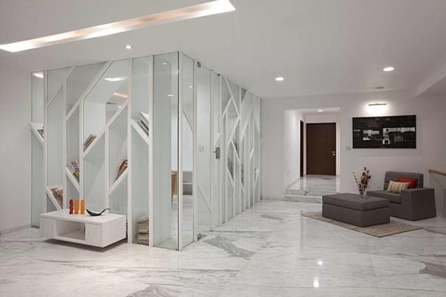 Ngôi nhà có thiết kế hiện đại, sáng tạo - Ảnh 5.