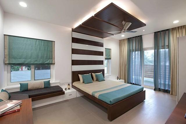 Ngôi nhà có thiết kế hiện đại, sáng tạo - Ảnh 8.
