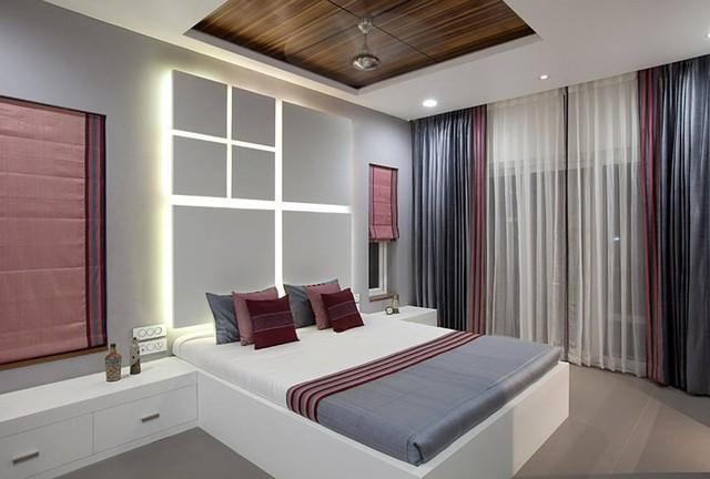 Ngôi nhà có thiết kế hiện đại, sáng tạo - Ảnh 9.