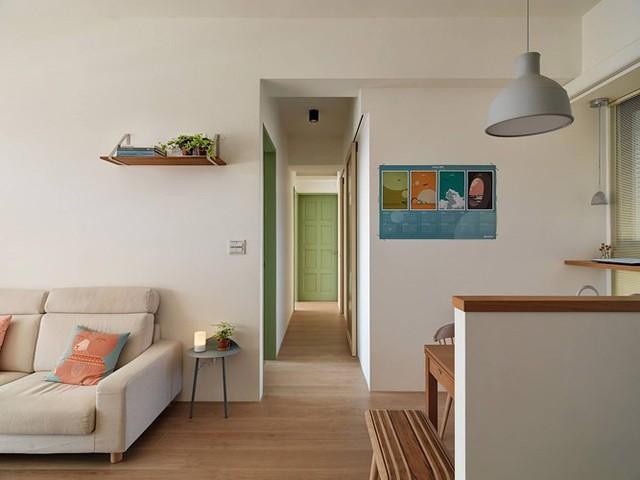 Căn hộ 80 m2 trang trí tối giản mà thân thiện - Ảnh 6.