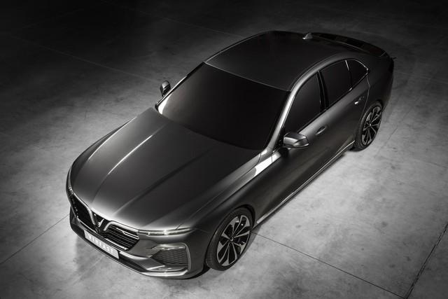 VinFast công bố những hình ảnh thiết kế ngoại thất đầu tiên của 2 mẫu xe Sedan và SUV - Ảnh 1.