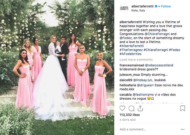 Vogue khẳng định: Đám cưới của Chiara Ferragni hot hơn cả đám cưới cổ tích của hoàng tử Harry và Meghan Markle! - Ảnh 7.