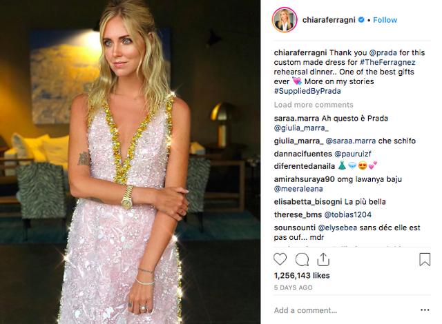 Vogue khẳng định: Đám cưới của Chiara Ferragni hot hơn cả đám cưới cổ tích của hoàng tử Harry và Meghan Markle! - Ảnh 8.