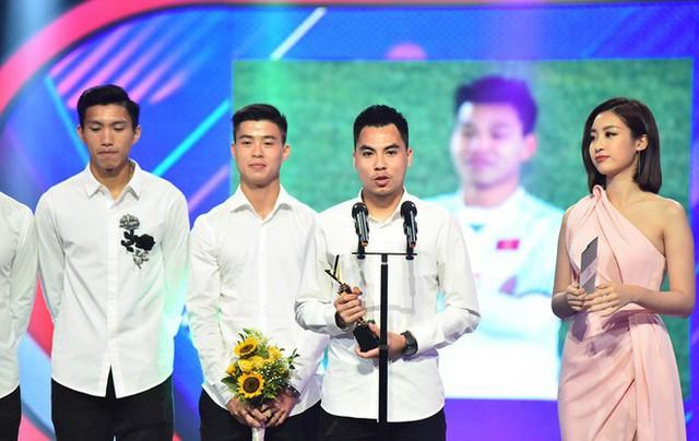 VTV Award 2018: Táo Quân đột ngột xuất hiện, U23 và bé Bôm đoạt giải thưởng quan trọng - Ảnh 7.