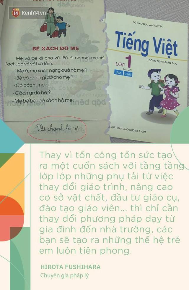 Chuyên gia pháp lý người Nhật nói về bài đọc Bé xách đỡ mẹ gây tranh cãi: Đừng bắt trẻ thơ nhìn vạn vật bằng con mắt của người lớn - Ảnh 5.