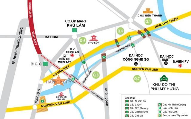 Bất động sản Tây Nam Sài Gòn hưởng lợi từ hệ thống hạ tầng giao thông mới - Ảnh 1.