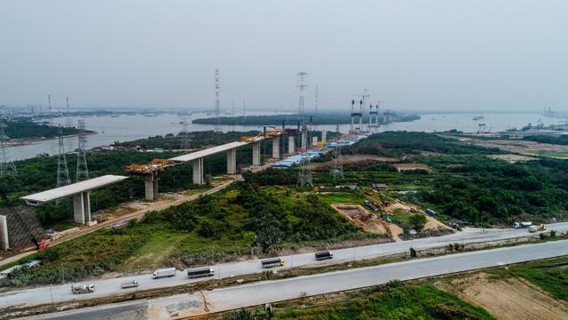 Cận cảnh cao tốc Bến Lức - Long Thành đoạn qua TP.HCM và Long An - Ảnh 7.