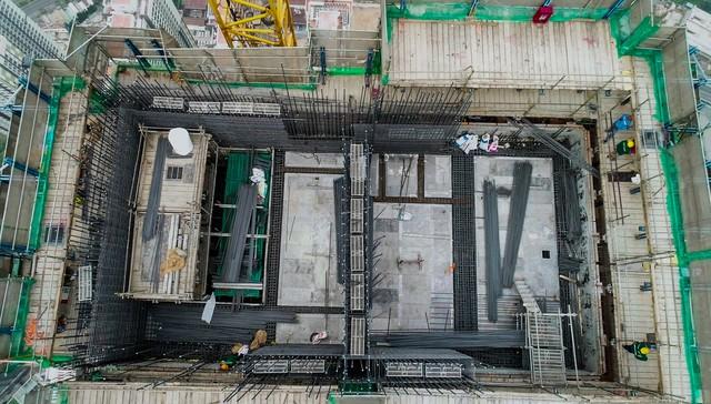 Cận cảnh tòa tháp cao nhất Việt Nam Landmark 81 chuẩn bị cất nóc - Ảnh 6.