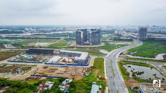 Cụm dự án của Công ty CP Hạ tầng Kỹ thuật TP.HCM (CII) cũng sẽ cung cấp cho thị trường gần 1.000 căn hộ cao cấp.