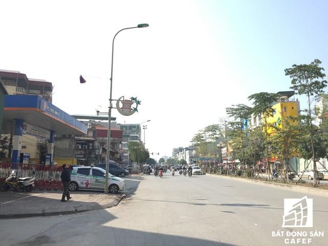 Đường Tân Mai rộng thoáng đi qua dự án Mandarin Garden 2.