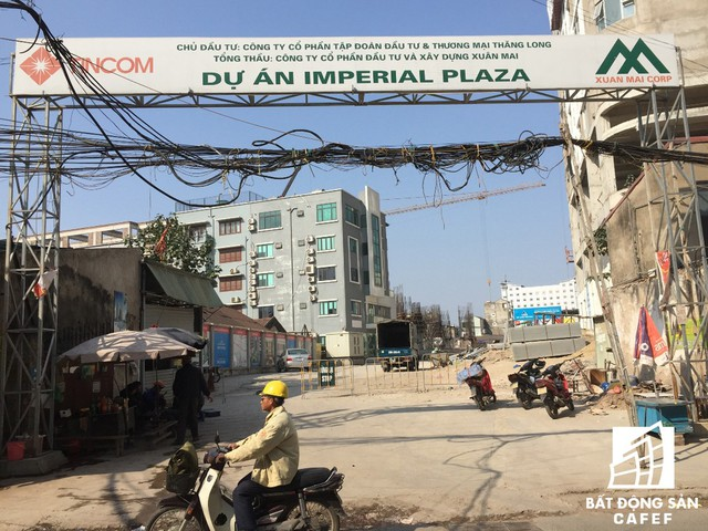 Imperial Plaza do Công ty cổ phần tập đoàn đầu tư và thương mại Thăng Long làm chủ đầu tư.