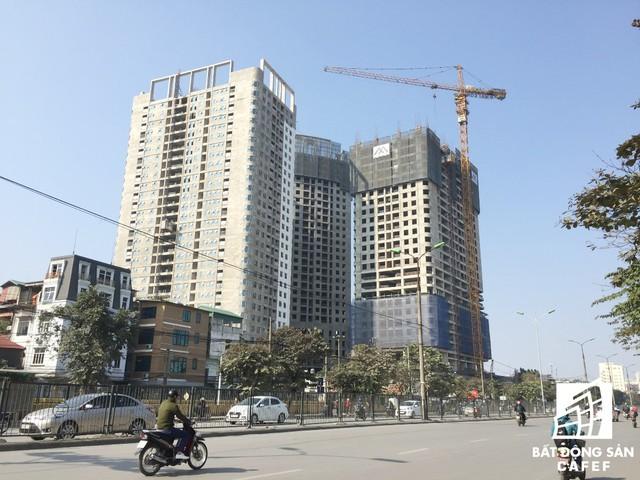 Dự án gồm 3 khối tòa tháp IP1, IP2 và IP3 cao 30 tầng.