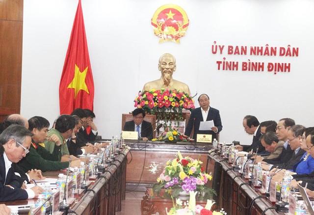 Thủ tướng: Sẽ xem xét vấn đề cổ phần hóa cảng Quy Nhơn - Ảnh 3.