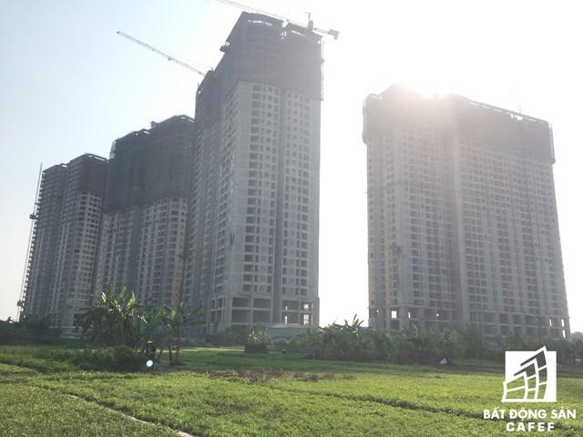 Dự án có tầm nhìn rộng thoáng ra các khu vực xung quanh.