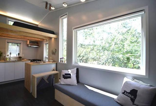 Cặp vợ chồng trẻ sống thoải mái và tiện nghi trong ngôi nhà 18m2 - Ảnh 5.