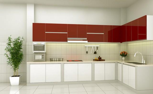 Những tủ bếp đơn giản nhưng khiến không gian bếp đẹp và sang đến không ngờ - Ảnh 8.