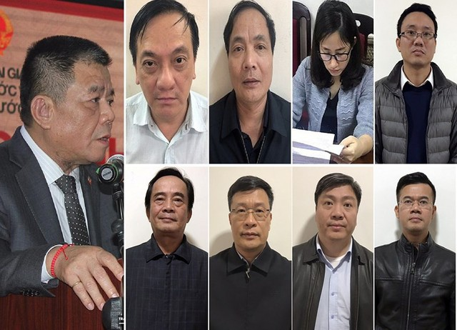 Chưa đầy 2 tháng, 9 cựu lãnh đạo và cán bộ BIDV bị khởi tố - Ảnh 1.