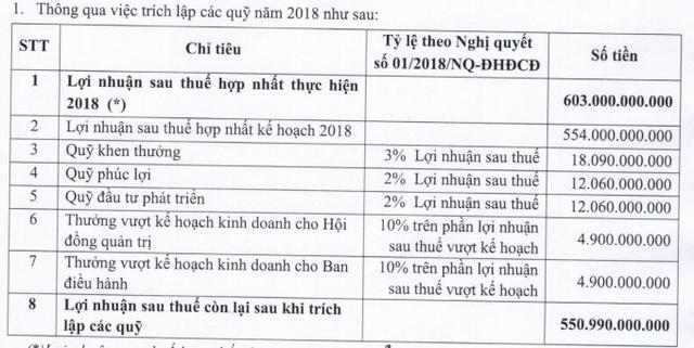 LDG báo lãi sau thuế 603 tỷ đồng năm 2018, dành gần 10 tỷ khen thưởng lãnh đạo - Ảnh 1.