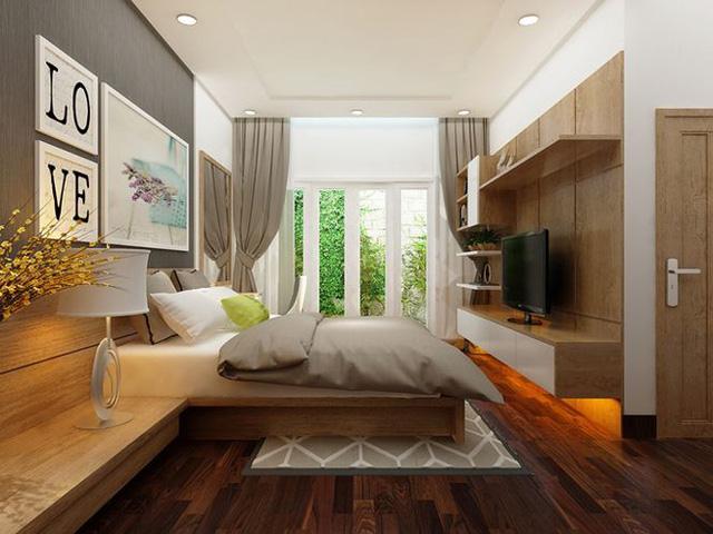 Mẫu nhà 1 tầng 800 triệu đồng đẹp như biệt thự hạng sang - Ảnh 6.