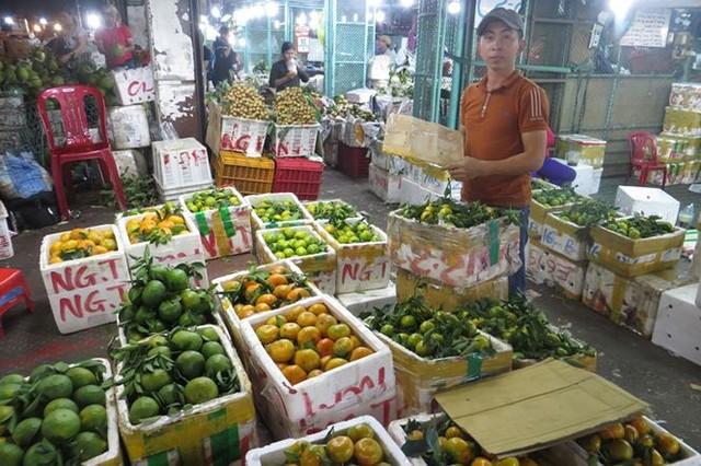 Cam Canh Trung Quốc đầy chợ đầu mối Sài Gòn - Ảnh 8.