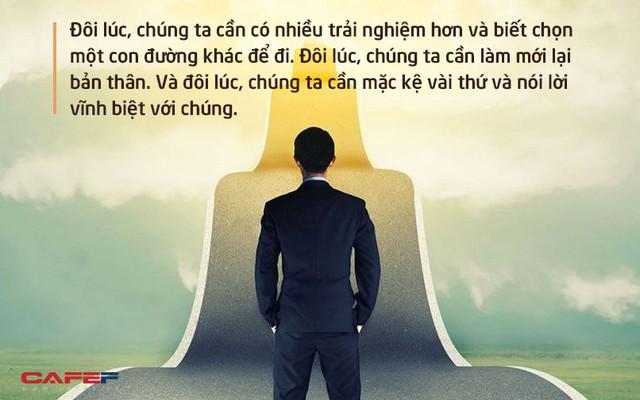 Mạnh mẽ không phải là thực hiện những điều phi thường, mà chỉ đơn giản là biết làm điều này khi cuộc đời từ chối ta - Ảnh 1.