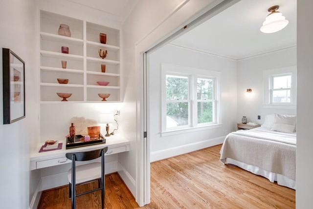 Trang trí không gian nhà với màu trắng - Ảnh 3.