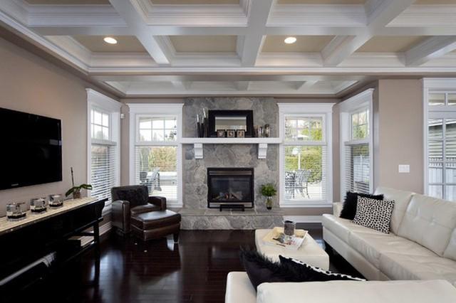 Trang trí không gian nhà với màu trắng - Ảnh 4.