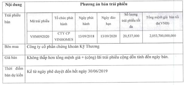 Techcombank bán hơn 20,5 triệu trái phiếu của Vinhomes - Ảnh 1.