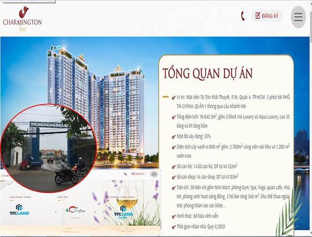 Đất vàng dự án Charmington Iris ở Sài Gòn được duyệt giá bèo - Ảnh 1.