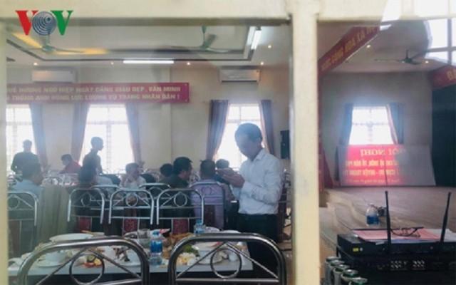 Cán bộ mở tiệc buổi sáng, chiều nghỉ làm: Lãnh đạo huyện ở Hà Nội nói gì? - Ảnh 2.