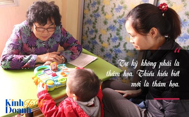 Phó giám đốc bệnh viện tâm thần khởi nghiệp với trung tâm giáo dục trẻ tự kỷ - Ảnh 1.