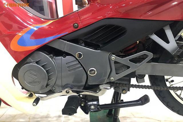Hét giá 1 tỷ đồng: Chiếc xe máy Suzuki RGV 120 có gì đặc biệt? - Ảnh 4.