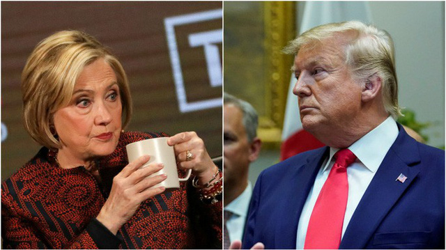 Bà Clinton nói gì khi bị ông Trump thách ra tranh cử tổng thống? - Ảnh 1.