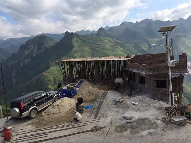 Hình ảnh quá trình xây dựng Panorama Mã Pì Lèng - Ảnh 2.