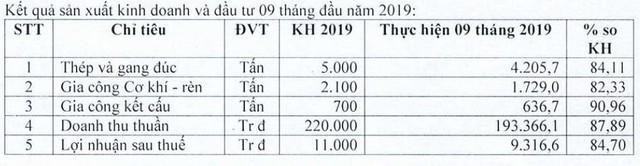 Cơ khí luyện kim (SDK) báo lãi ròng hoàn thành 85% kế hoạch năm sau 9 tháng - Ảnh 1.