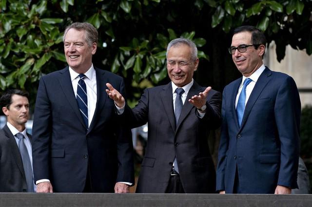 Tổng thống Trump: Đàm phán thương mại Mỹ-Trung ngày đầu diễn ra rất tốt - Ảnh 1.
