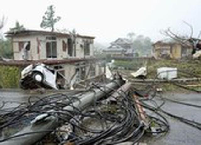 Hình ảnh bão Hagibis tàn phá Nhật trước khi quay ra biển TBD - Ảnh 16.