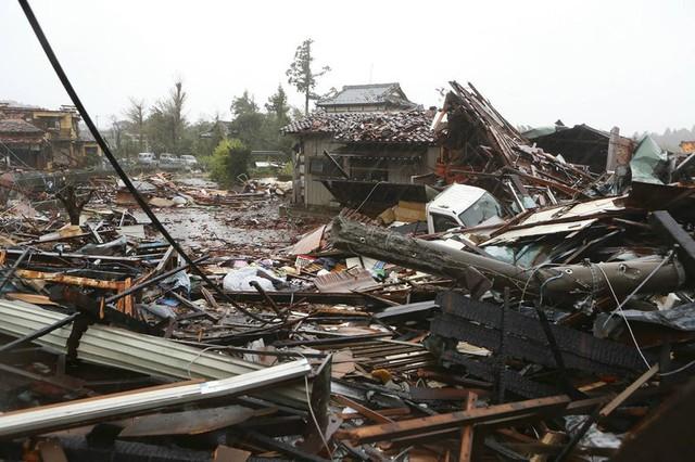 Hình ảnh bão Hagibis tàn phá Nhật trước khi quay ra biển TBD - Ảnh 4.