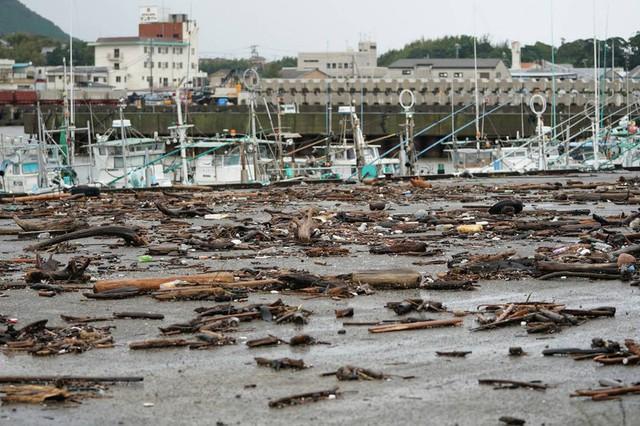Hình ảnh bão Hagibis tàn phá Nhật trước khi quay ra biển TBD - Ảnh 5.