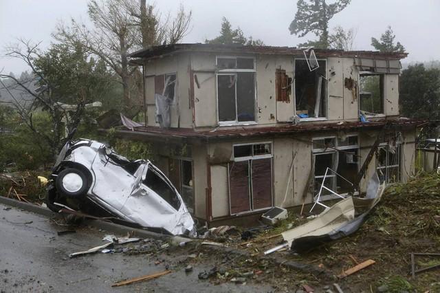 Hình ảnh bão Hagibis tàn phá Nhật trước khi quay ra biển TBD - Ảnh 6.
