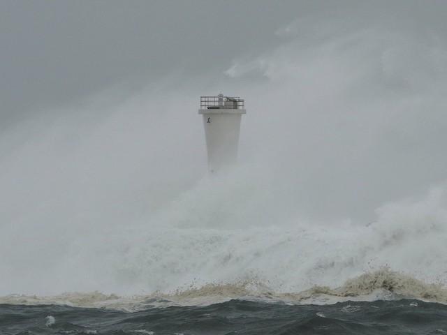 Hình ảnh bão Hagibis tàn phá Nhật trước khi quay ra biển TBD - Ảnh 9.