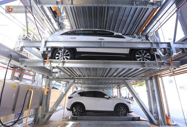 Cận cảnh bãi đỗ xe 6 tầng thông minh, tự động xếp hình đầu tiên ở Đà Nẵng - Ảnh 14.